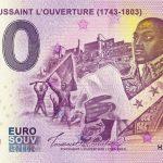 Haiti – Toussaint L´Ouverture 2019-1 0 euro souvenir banknote