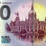Hannover 2019-3 0 euro souvenir neues rathaus
