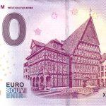 Hildesheim 2018-1 welt kultur erbe 0 € souvenir banknote zero euro schein