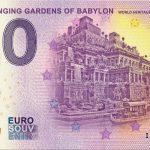 IRAQ – Hanging Gardens of Babylon 2019-1 0 euro souvenir world heritage