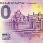 IRAQ – Ishtar Gate of Babylon 2019-1 0 euro souvenir world heritage
