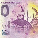 ISTANBUL SULTANAHMET CAMII 2019-1 0 euro souvenir turkey