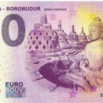Indonesia – Borobudur 2019-1 0 euro souvenir world heritage