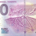 Islas Canarias Tenerife 2019-1 0 euro souvenir bankovka zero euro schein