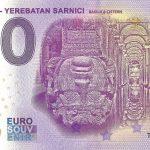 Istanbul – Yerebatan Sarnici 2020-1 0 euro souvenir banknote turkey