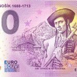 Juraj Jánošík 1688 – 1713 2020-1 0 euro souvenir bankovka slovensko