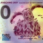 Karneval-Fasching 2021-1 0 euro souvenir banknotes germany
