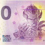 Lanfeust 2018-10 zero euro souvenir 0 e banknote schein