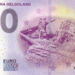 Lange Anna Helgoland 2019-1 0 euro souvenir bankovka
