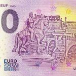 Le Pont Neuf 2018-1 Paris 0 euro bankovka zeroeuro souvenir