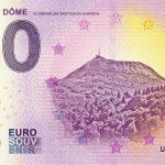 Le Puy de Dôme 2019-4 0 euro souvenir zero euro bankovka