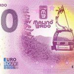 Malino Brdo 2020-1 0 euro souvenir bankovka slovensko