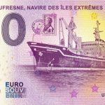 Marion Dufresne Navire des Iles Extrémes 2019-4 0 euro souvenir france