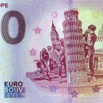 Mini Europe 2018-2 0 euro souvenir zero euro banknote