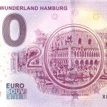 Miniatur Wunderland Hamburg 2018-5 zero euro banknote 0 euro souvenir