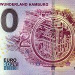 Miniatur Wunderland Hamburg 2019-7 zero euro souvenir banknovka 0 € banknote