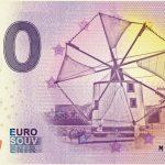 Moinhos 2018-1 0 euro souvenir bankovka zero euro banknote