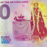 Monarchs of the Netherlands 2020-7 0 euro souvenir banknotes zero euro