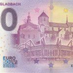 Monchengladbach 2021-1 0 euro souvenir banknotes germany