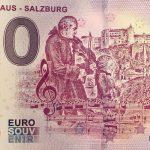 Mozarthaus – Salzburg 2018-3 zero euro 0 € souvenir banknote
