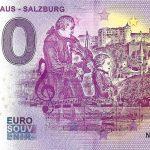 Mozarthaus salzburg 2019-3 0 euro souvenir schein germany