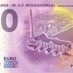 Netherlands – IR. D.F. Woudagemaal 2020-2 0 euro souvenir schein banknote