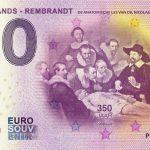 Netherlands – Rembrandt 2019-5 0 euro souvenir schein banknote