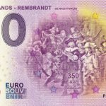 Netherlands Rembrandt 2019-1 de nachtwacht 0 euro souvenir