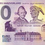 Nordliches Harzvorland 2019-1 0 euro souvenir bankovka salzgitter goslar wolfenbuttel