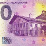 Oberammergau - Pilatushaus 2018-1 zero euro 0€ souvenir banknote