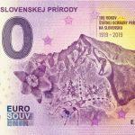 Ochrana slovenskej prírody 2019-1 0 euro souvenir