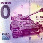 Overlord Museum 2019-5 0 euro souvenir schein