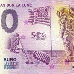 PREMIER PAS SUR LA LUNE 2019-1 0 euro souvenir banknote turkey