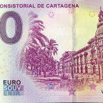 Palacio Consistorial de Cartagena 2019-2 0 euro souvenir