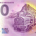Petit Train D´Artouste 2021-1 0 euro souvenir france banknotes billet schein