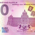 Poklady Světové Filatelie 2020-1 0 euro souvenir ceska republika zero euro
