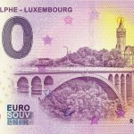 Pont Adolphe – Luxembourg 2019-1 0 euro souvenire banknote