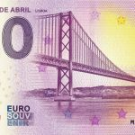 Ponte 25 de Abril 2019-2 Lisboa 0 euro souvenir