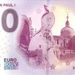 Pope John Paul I 2019-1 0 euro souvenir bankovka 0 € banknotes