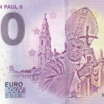 Pope John Paul II 2018-2 eurosouvenir zero euro banknote 0€ souvenir