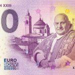 Pope John XXIII 2019-1 0 euro souvenir bankovka zero euro banknotes schein