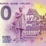 Porvoo-Borga Suomi-Finland 2019-1 0 euro souvenir banknote