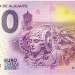 Provincia De Alicante 2018-1 la dama de elche 0 euro souvenir banknotes