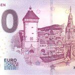 Reutlingen 2019-1 0 euro souvenir zero euro banknote