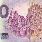 Riga 2019-1 0 euro banknote zeroeuro souvenir schein bankovka