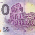 Roma Colosseo 2019-1 0 euro souvenir banknote zeroeuro bankovka