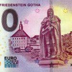 SCHLOSS FRIEDENSTEIN GOTHA 2018-1 0 euro souvenir slovensko