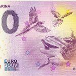 SELWO MARINA 2018-1 0 euro souvenir bankovka slovensko zero euro banknote