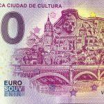 Salamanca Ciudad de Cultura 2019-1 0 euro souvenir spain