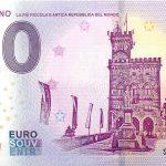 San Marino 2019-1 0 euro souvenir slovensko